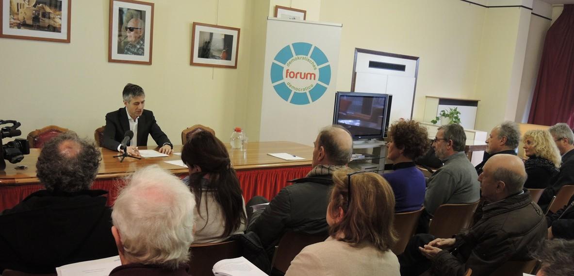 Francesco Palermo a Bolzano alla conferenza stampa di presentazione del ddl costituzionale