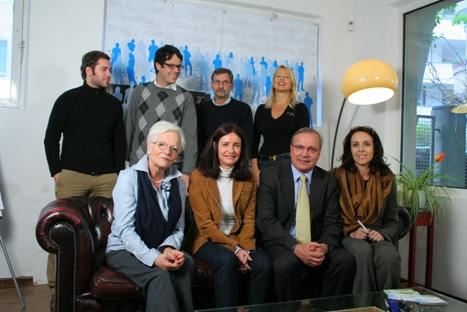 Direttivo e collaboratori della cooperativa Supertoll incontrano Siegfried Brgger e Ingeborg Bauer Polo