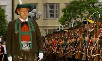 Il presidente della provincia di Bolzano Durwalder