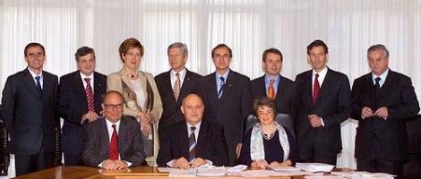 La Giunta provinciale di Bolzano - XIII legislatura