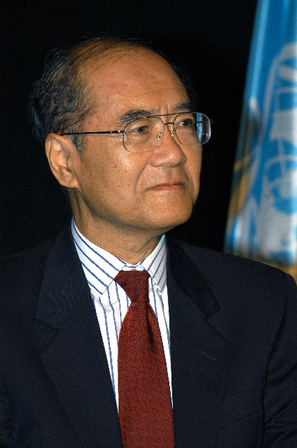Koichiro Matsuura - Photo  UNESCO/Michel Ravassard